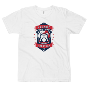 LTS Goodyear Bulldogs White Logo T-shirt 2020